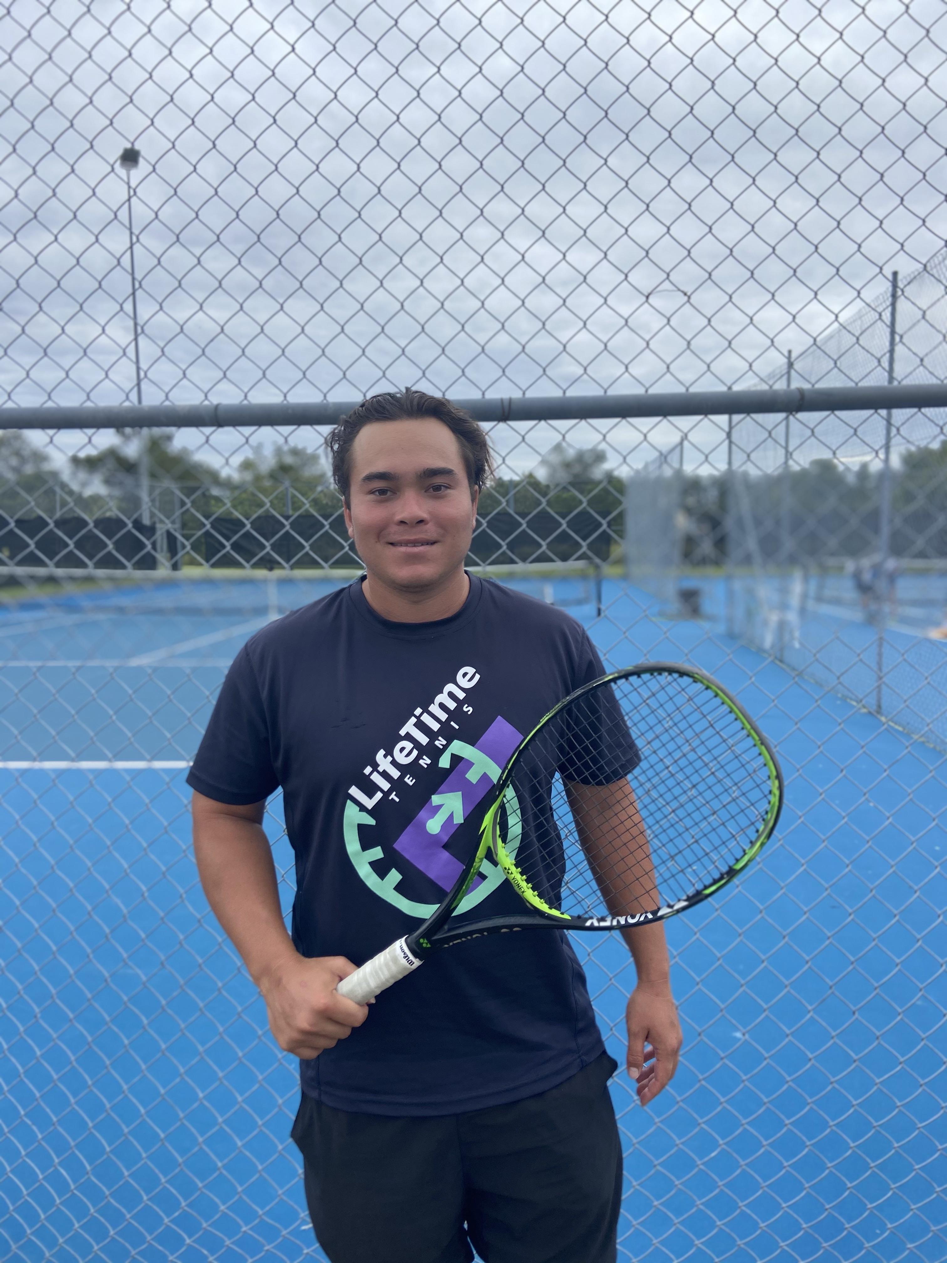 The LifeTime Tennis Team: Jack Moore